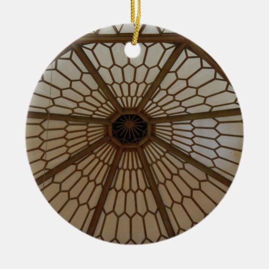Art Nouveau Dome Spiderweb Ornament