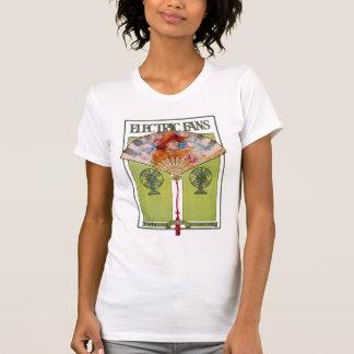 Art Nouveau Electric Fan ad T-Shirt