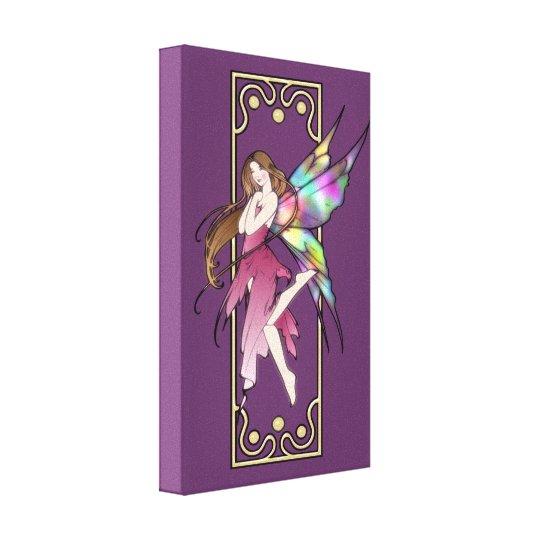 Art Nouveau Fairy Canvas Print