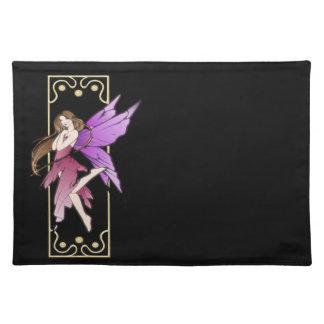 Art Nouveau Fairy Cloth Placemat