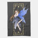 Art Nouveau Fairy Hand Towel