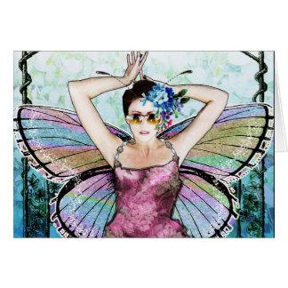 Art Nouveau Fairy Notecard