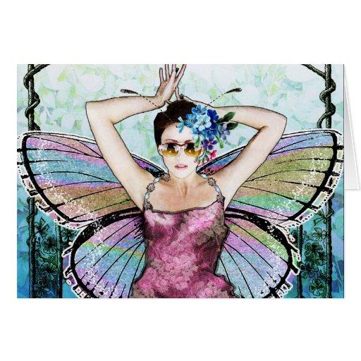 Art Nouveau Fairy Notecard Cards