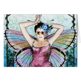 Art Nouveau Fairy Notecard Stationery Note Card