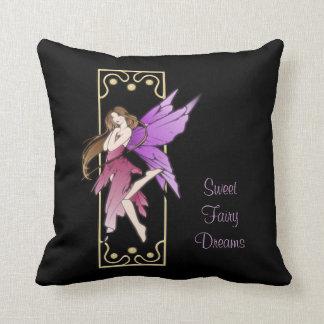 Art Nouveau Fairy Pillow