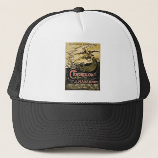 Art Nouveau fairy tale illustration cinderella Trucker Hat