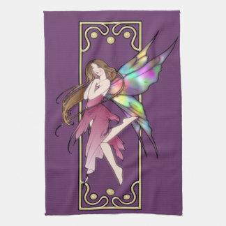 Art Nouveau Fairy Towel