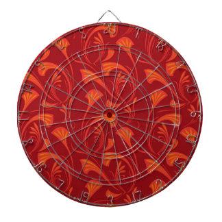 Art Nouveau Fan Dartboards