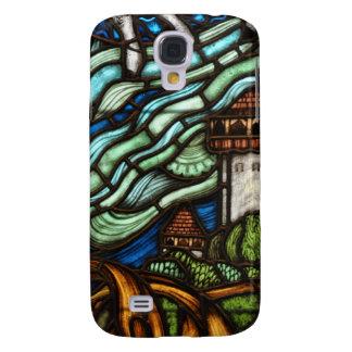 Art Nouveau Fantasy Case - Fantasy Castle Galaxy S4 Case
