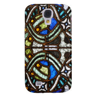 Art Nouveau Fantasy Case - Stained glass abstract Samsung Galaxy S4 Case
