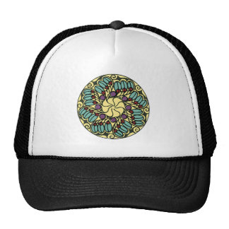 Art Nouveau Floral Abstract Gifts, Tees Trucker Hat