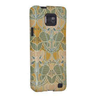 Art Nouveau Floral Samsung Galaxy SII Cover
