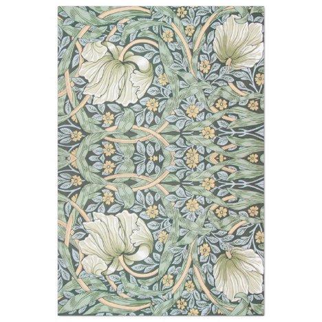 Art Nouveau Floral Decoupage Paper