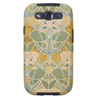 Art Nouveau Floral Galaxy SIII Cover