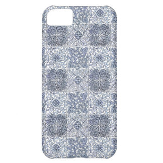 Art Nouveau Floral Tile Abstract Cover For iPhone 5C