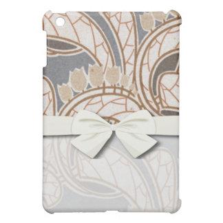art nouveau flowers and foliage design cover for the iPad mini