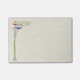Art Nouveau Flowers - Post-it Notes Post-it® Notes