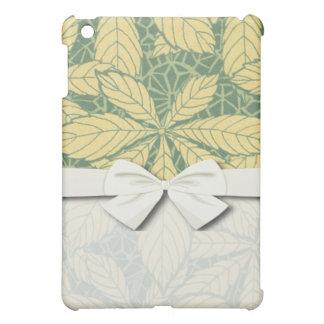 art nouveau foliage leaves design iPad mini cover