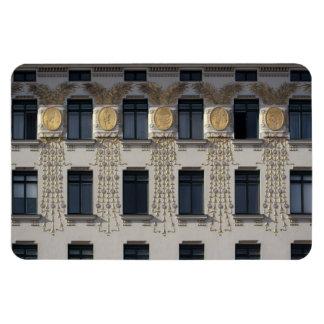 Art Nouveau Front Rectangular Photo Magnet