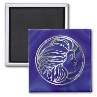 Art Nouveau Girl Magnet