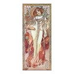 Art Nouveau Goddess Card