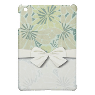 art nouveau green nature pern iPad mini covers