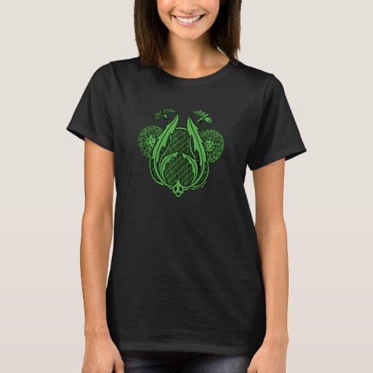art nouveau_green tint T-Shirt