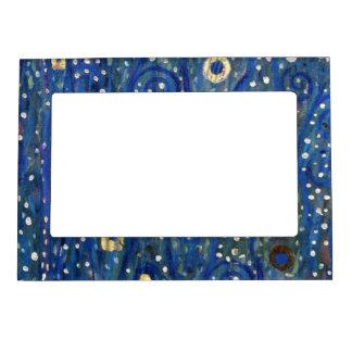Art Nouveau Gustav Klimt Gold Blue Magnetic Frame