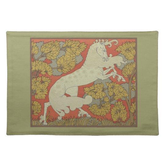 Art Nouveau Horse Placemat