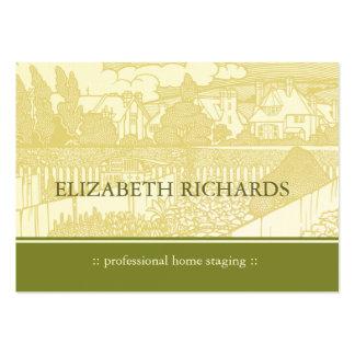 Art Nouveau House Chubby Business Card