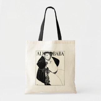 Art Nouveau illustration: Beardsley - Ali Baba Tote Bag