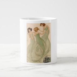 Art Nouveau Illustration/Ceramic Mug