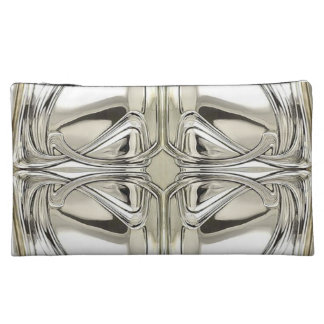 Art Nouveau in Sterling Cosmetic Bag