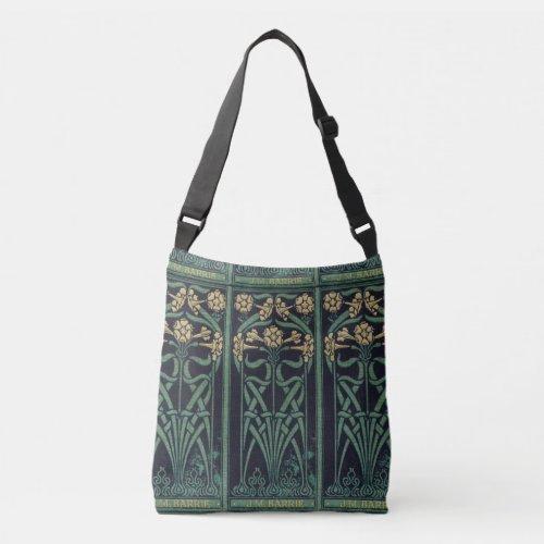 Art Nouveau J.M.Barrie Crossbody Bag