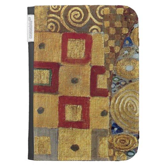 Art Nouveau Klimt Gold Red, Old Gold, Kindle Kindle Cases