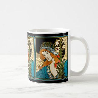 Art Nouveau - L.Rhead - Prang's Easter Mug