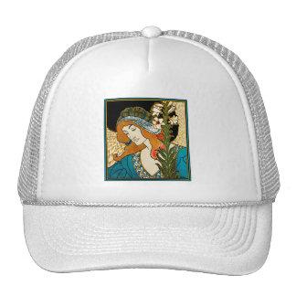 Art Nouveau - L.Rhead - Prang's Easter Trucker Hat