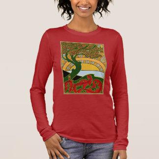 Art Nouveau - La Libre Esthetique by Combaz Long Sleeve T-Shirt