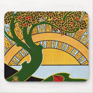 Art Nouveau - La Libre Esthetique by Combaz Mouse Pad