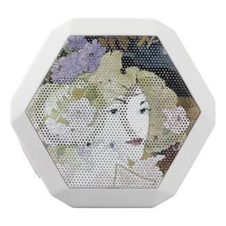 Art Nouveau Lady Flowers Floral Boombot Speaker