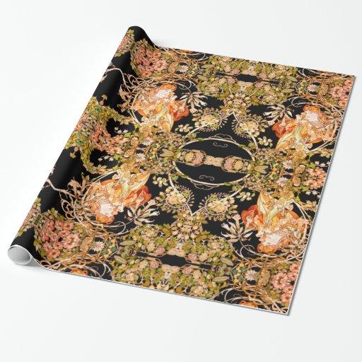 Art Nouveau Wrapping Paper