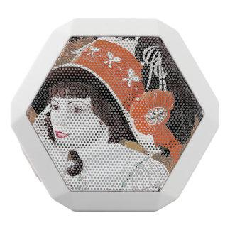 Art Nouveau Lady & Hat Vintage Boombot Speaker