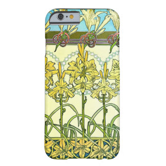 Art Nouveau Lilies 1901 Barely There iPhone 6 Case