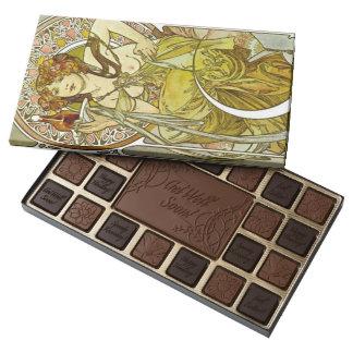 Art Nouveau Liqueur Ad 1901 Assorted Chocolates