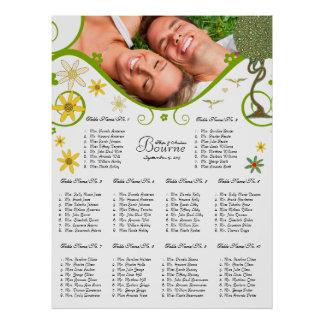 Art Nouveau Love Bird Wedding Posters