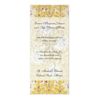 art nouveau marigold vintage art card