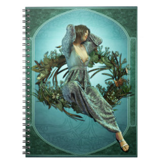 Art Nouveau Morning Notebook