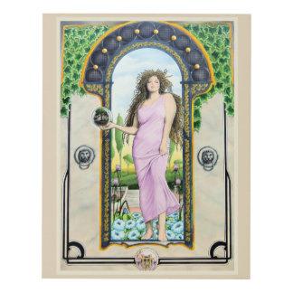 Art Nouveau Mother Nature
