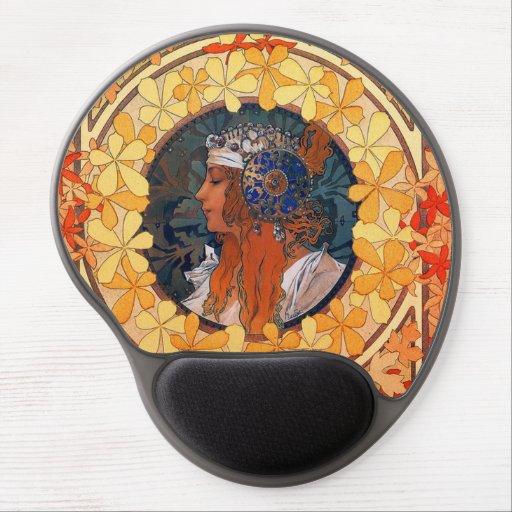 Art Nouveau Mouse Pad Gel Mouse Pad