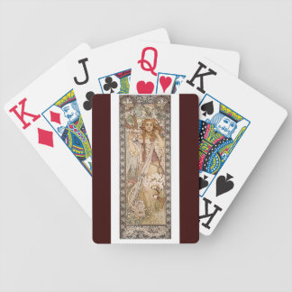 Art Nouveau Mucha Playing Cards